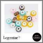 Legenstar hot selling wholesale DIY plastice beads murano glass beads for bracelet