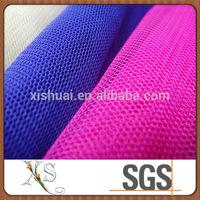 Wholesale Tulle Rolls Hexagonal Mesh Stretch Net Fabric