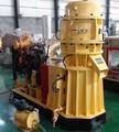 madera máquina de la pelotilla con motor diesel