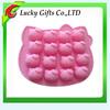 Hot sale Eco-friendly hello kitty fondant silicone molds