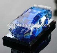 Optical k9 crystal toy sport car (CM-10114)