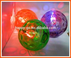 2014 New LED Hollow TPU Super High Bouncing Sky Ball