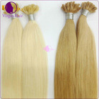 High quality 100% human remy no tangle fusion remy u tip keratin human hair extension
