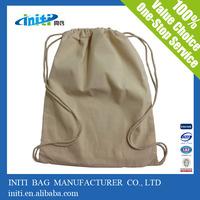 Alibaba express alibaba supplier wholesale cotton linen drawstring bag for storage