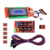 Electronic parts and kit for 3d printer