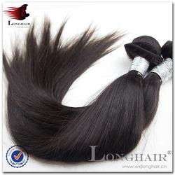 Wholesale Virgin Hair No Shed virgin peruvian straight hair weft sealer