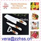 ceramic kitchen knife set zirconia easy to use and safe, never blunt, steak knife zirconia ceramic knife
