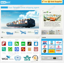 International cargo transport service from china to europe