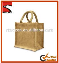 Hot sale eco friendly promotional printed jute bag