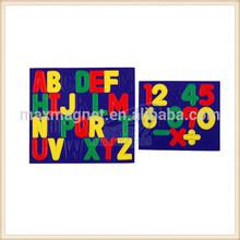 eco-friendly alphabet fridge magnets words