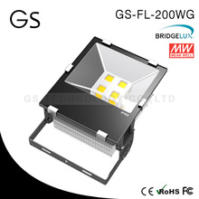 meanwell power supply 5 years warranty driver 200w led flood light for building