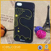 2014 cutest horse for iphone 5s case, candy color case with horse silicone mobile phone shell for iphone 5s