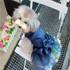 Bling bling small pet Dog cat puppy clothes dress