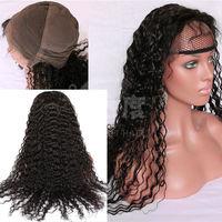 New Fashion Human Hair Wig Brazilian Virgin Human Hair Full Lace Wig