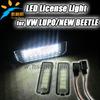 6000K Ultra bright led auto license number plate light 12v/24v led plate light for VW Golf4, EOS, LUPO, PASSAT, POLO
