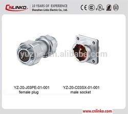 alibaba china male plug and female receptacle connector female plug connector