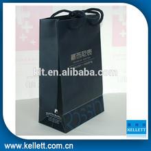 Custom made black watch paper gift bag & Custom gift paper bag for packaging