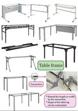 steel frame/student desk/table