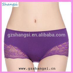 Purple charming sexy woman underwear panty hose tube