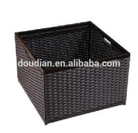 Rattan Laundry Basket Room Basket Towel Holder