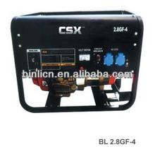 CE/CARB/ROHS/GS/EPA/UL recoil starter/electric starter gasoline generator