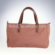 New design long strap canvas tote bag