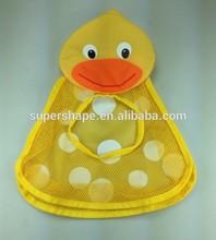 baby bath organizer mesh suction cup organizer