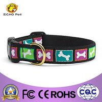 jaquacd ribbon dog collars for big dogs Bright Bones Dog Collar