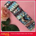 Sequin confetti tecidoelástico 100% vestido de poliéster china fabricante de decoração armadura samurai