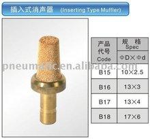 Inserting Type Muffler
