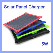 5W Solar Mobile Phone Charger Portable Travel Solar Kit