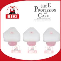 Professional triangle liquid shoe polish applicator