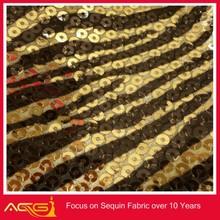 Sequin Mesh Lace Floral Fabri 100% polyester China Manufacturer felt sunflower decoration