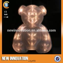 16L Led Pvc Teddy Bear Christmas Decor Light