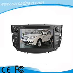 8inch HD player in car radio for Lifan X60 with bluetooth