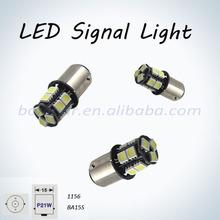 1156 ba15s black fiberglass pcb led light in car