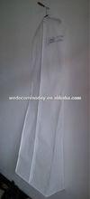 bridesmaids dress bag wholesale 72inch length with PVC pocket