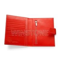 New design cowhide leather credit card holder wallet