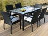 popular high-end rattan garden table model 0632