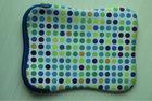 New design pattern dots promotional waterproof neoprene laptop bag sleeve