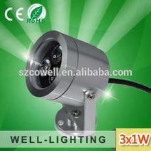 DC12V/AC85-265V high quality high lumens led garden bollard lights