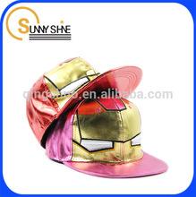 Sunny Shine cheap custom iron man baseball cap
