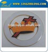 Crown Black&Orange&Red Custom Metal Auto Emblems And Logos