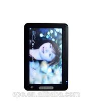 4GB black white color 7'' e book reader 7 inch E-BOOK