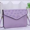fashion rivet ladies mini handbag coin purse PU clutch bag teen wallets