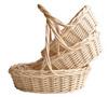 Wicker basket, gift basket, fruit basket,willow basket