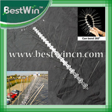 plastic bird spikes, rings for birds,plastic fence spikes