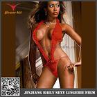 Proper price latest design nude sheer lingerie babydoll