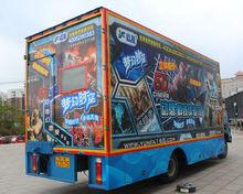 Woo!! 2014 long awaited Pefect 5D Cinema Simulator/High Quality Fashion truck mobile 5D cinema On Car