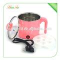 Eléctrica mini olla caliente/1.2l eléctrica mini olla de vapor/pp+steel multi olla de cocción